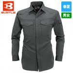制電T/Cライトチノ長袖シャツ