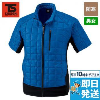 42256 TS DESIGN マイクロリップショートスリーブジャケット(男女兼用)