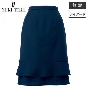 YT3701 ユキトリイ ティアードスカート ツイード