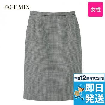 2008L FACEMIX/GRAND(グラン) 千鳥格子 ストレッチスカート(女性用)
