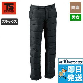 846242 TS DESIGN 防寒・ストレッチ中綿キルティングパンツ(男女兼用)