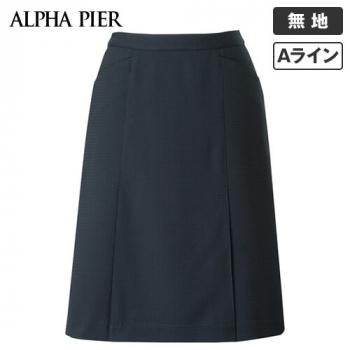 AR3676 アルファピア Aラインスカート 無地 40-AR3676
