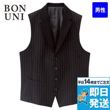 15121 BONUNI(ボストン商会) ベスト(男性用) ストライプ