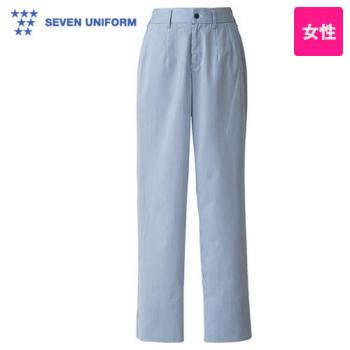 DL2983 セブンユニフォーム 先染めストライプパンツ(女性用)
