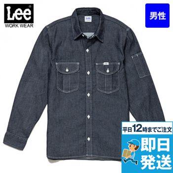 LWS46001 Lee ワーク長袖シャ
