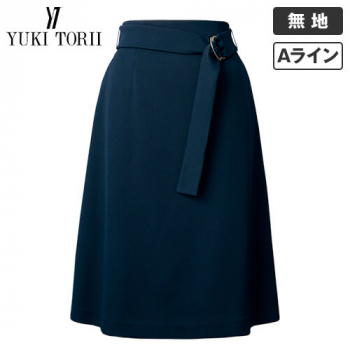 YT3308 ユキトリイ Aラインスカート 無地