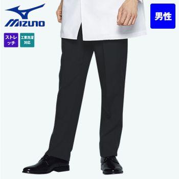 MZ-0088 ミズノ(mizuno) ストレッチパンツ(男性用)ストレートシルエット アジャスター仕様 股下マチ