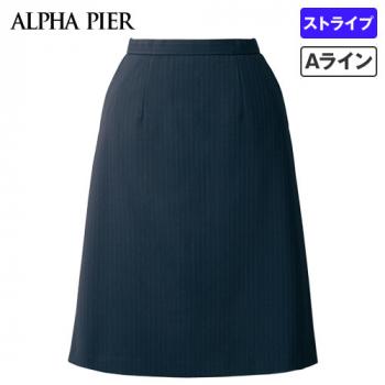 AR3888 アルファピア Aラインスカート ストライプ