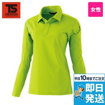 91051 TS DESIGN TS 4Dレディースロングポロシャツ