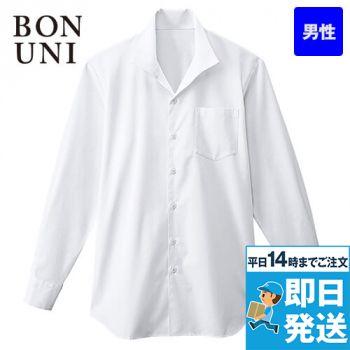 34108 BONUNI(ボストン商会) イタリアンカラーシャツ/長袖(男性用)