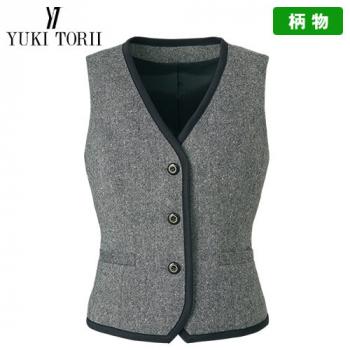 YT2910 ユキトリイ ベスト ツイード