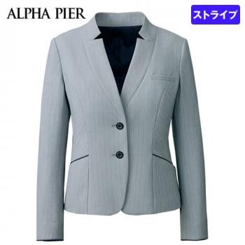 AR4881 アルファピア ジャケット ストライプ(防シワ/防汚) 40-AR4881