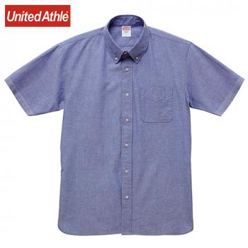 オックスフォード ボタンダウン ショートスリーブシャツ