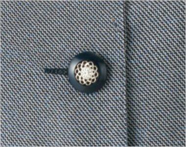 幾何学模様のようなきれいな黒いボタン