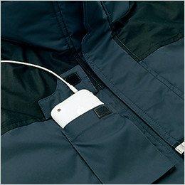 胸 携帯電話ポケット付