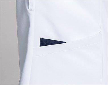 右腰 便利なループと小分けポケット