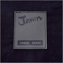 背当て Jawinのロゴ入りワッペン