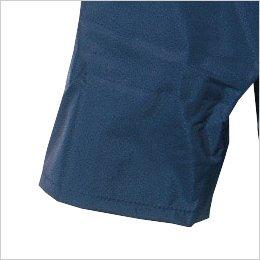 雨の侵入を防ぐ二重袖(内側ゴム仕様)