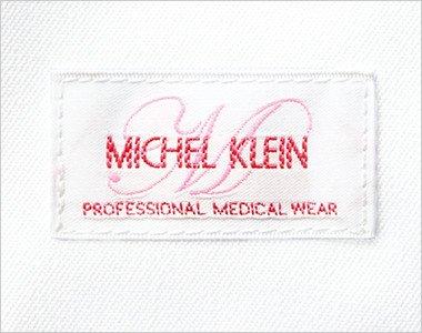 ミッシェルクランのロゴが刺繍で左袖についてます。