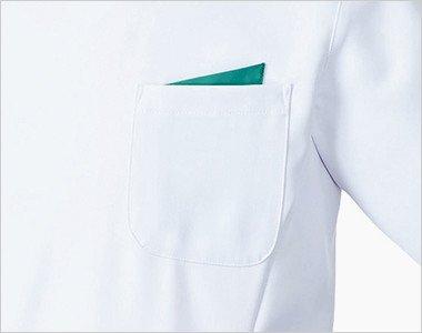 左胸 PHSポケット