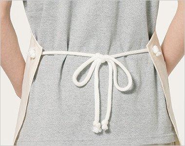 ほどけにくいロープ状の腰紐