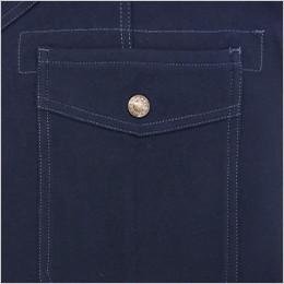 飾りフラップポケット