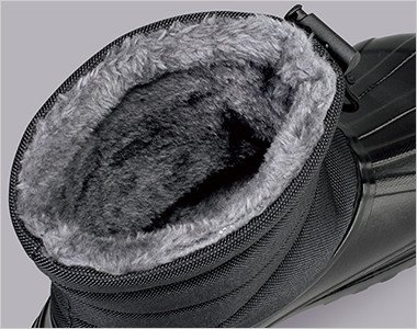 裏布にはボアを使用しているので保温性抜群です。