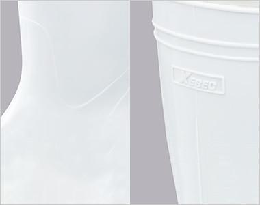 アッパー素材に抗菌・防カビ剤を配合した高機能タイプの衛星長靴です。