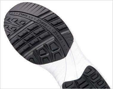 靴底には油に強い耐油配合のラバーを使用しています。