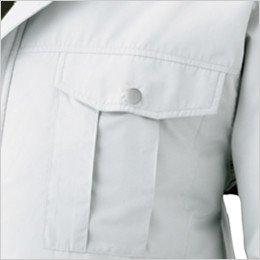 両胸 ポケット付