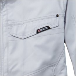 左胸 フラップポケット