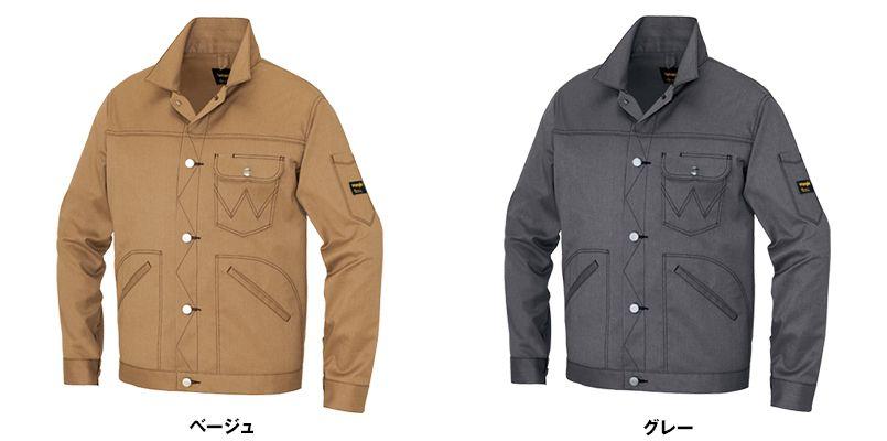 AZ64102 アイトス Wrangler(ラングラー) ボタンジャケット(男女兼用) 色展開