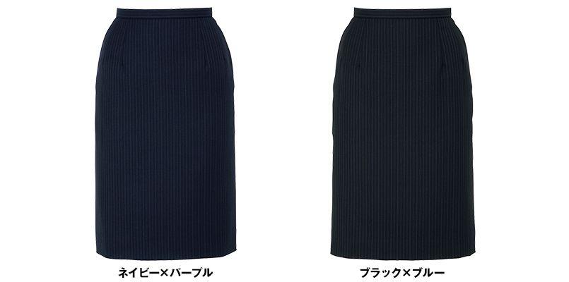 BONMAX AS2244 [通年]アウトラストI タイトスカート ストライプ[温度調整機能付] 色展開