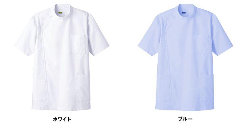 WH10415 自重堂WHISELメンズケーシー(男性用) 色展開
