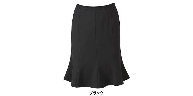 ESS469 enjoy マーメイドスカート 無地 色展開