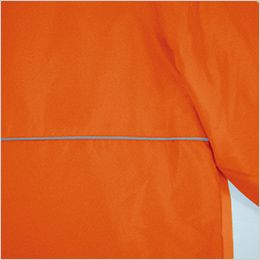 AZ1961 アイトス アーバンエクスプレス 中綿ブルゾン(男女兼用) 反射パイピング