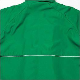 AZ2203 アイトス リフレクト裏フリースジャケット(男女兼用) 反射パイピング