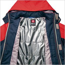 AZ50109 アイトス タルテックス 防寒ジャケット 体温を逃がさずに暖かい背裏保温アルミ