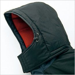 AZ6061 アイトス 寒冷地対応 光電子 防風防寒着ブルゾン ドローコード付き