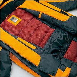 AZ6063 アイトス 極寒対応 光電子 防風防寒着コート 光電子綿+3層メッシュ+パウダーガード仕様で、最強の防寒性能