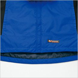 AZ6169 アイトス 光電子防風防寒ジャケット(フードイン)(男女兼用) バックタレ仕様