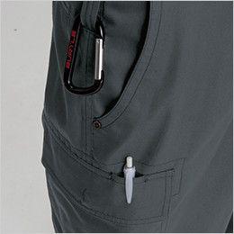 バートル 1106 [春夏用]制電T/Cライトチノカーゴパンツ(男女兼用)  ペン差し