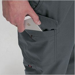 バートル 1106 [春夏用]制電T/Cライトチノカーゴパンツ(男女兼用)  Phone収納ポケット