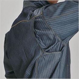 バートル 1501 [秋冬用]ヘリンボーン&T/Cソフトツイルジャケット(男女兼用) 背アームノーフォーク