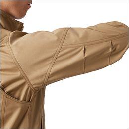 バートル 1701 T/Cソフトツイル長袖ジャケット(男女兼用) アームノーフォーク