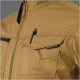 バートル 1711 [春夏用]T/Cライトチノ長袖ジャケット(男女兼用) ペン差し付き