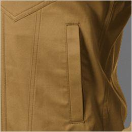 バートル 1711 [春夏用]T/Cライトチノ長袖ジャケット(男女兼用) ポケット付き