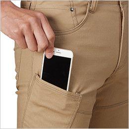 バートル 542 ストレッチカーゴパンツ(男女兼用)  Phone収納ポケット