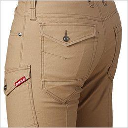 バートル 542 ストレッチカーゴパンツ(男女兼用) ピスフラップポケット
