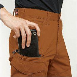 バートル 5512 [春夏用]綿100%リップクロスカーゴパンツ(男女兼用)裾上げNG 長財布・レベルブック収納ポケット
